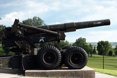 Army Cannon Stock Images