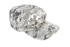 Army cap | Isolated Royalty Free Stock Image
