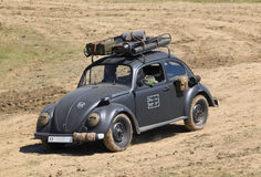 Army car - Beetle 82E. Military version of Volkswagen Type 82E Stock Photos