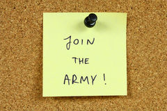 Army career Stock Images