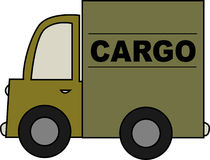 Army Cargo Truck Stock Images