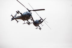 Army choppers Royalty Free Stock Photography