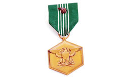 Army Commendation Medal Royalty Free Stock Photo