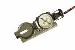 Army Compass. Against white background Royalty Free Stock Photography