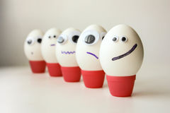 Army is the concept of order and disciplinary. Eggs Stock Image