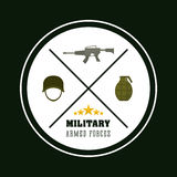 Army design. Royalty Free Stock Photos