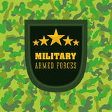 Army design. Royalty Free Stock Photo