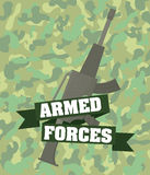 Army design. Royalty Free Stock Images
