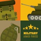 Army design. Royalty Free Stock Photo