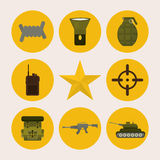Army design. Stock Photo