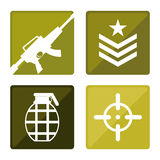 Army design. Royalty Free Stock Photography