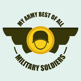 Army design. Stock Photography
