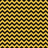 Yellow and Black Seamless Pattern vector illustration