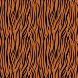 Tiger Print Seamless Pattern stock illustration