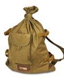 Army duffel bag Stock Image