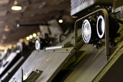 Army equipment. American infantry machine. royalty free stock photography