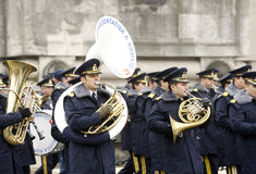 Army fanfare Stock Photography