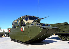 Army floating transporter Stock Photo