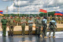 Army Games-2017. Safe Route contest. Tyumen.Russia Stock Photos