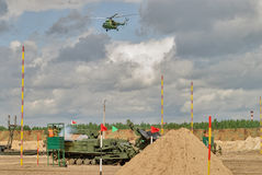 Army Games-2017. Safe Route contest. Tyumen.Russia Stock Photography