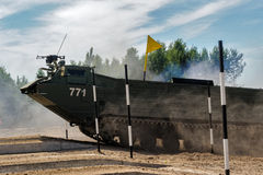 Army Games-2017. Safe Route contest. Tyumen.Russia Stock Photo
