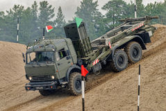 Army Games-2017. Safe Route contest. Tyumen.Russia Stock Image