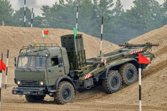 Army Games-2017. Safe Route contest. Tyumen.Russia Royalty Free Stock Image