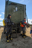 Army Games-2017. Safe Route contest. Tyumen.Russia Royalty Free Stock Photography