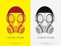 Army Gas Mask Royalty Free Stock Photos