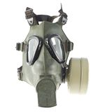 Army gas mask isolated Royalty Free Stock Photography
