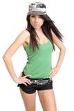 Army Girl Royalty Free Stock Photo
