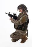 Army girl 8 Royalty Free Stock Photos
