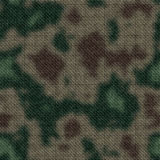 Army green and brown woodland camouflage fabric texture background Royalty Free Stock Photos