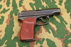 Army handgun Stock Image