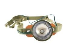 Army head flashlight isolated Stock Photos