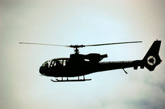 Army Helicopter Gazelle Royalty Free Stock Image