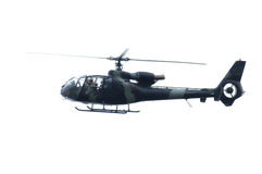 Army Helicopter Gazelle Stock Photo