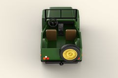 Army jeep Stock Images