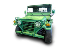 Army jeep off-road car. Army American  jeep an off-road car Royalty Free Stock Image