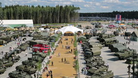 ARMY-2015 stock video footage