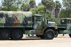 Army lorry Stock Image