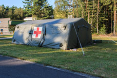 Army medical tent Royalty Free Stock Photography
