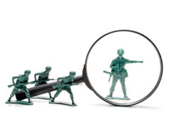 Army Men Royalty Free Stock Images