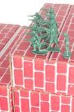 Army Men Guarding Base stock photos