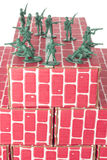 Army Men Guarding Base Royalty Free Stock Photos