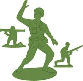 Army Men Toys Stock Image