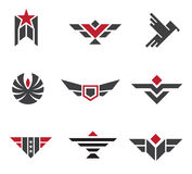 Army and military badges and strength symbols. Enjoy Royalty Free Stock Images