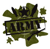 Army military design  Stock Photo