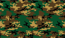 Army or Military Infantry Camouflage Seamless Vector Pattern or Seamless Vector Background Royalty Free Stock Image