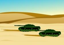 Army military tanks. Stock Photos